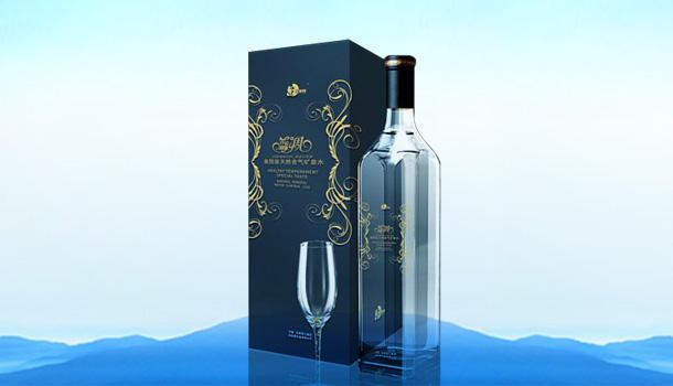 泉阳泉——蓝调天然含气矿泉水