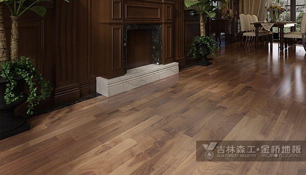 三层实木复合地板——挪威海岸(东南亚风格)
