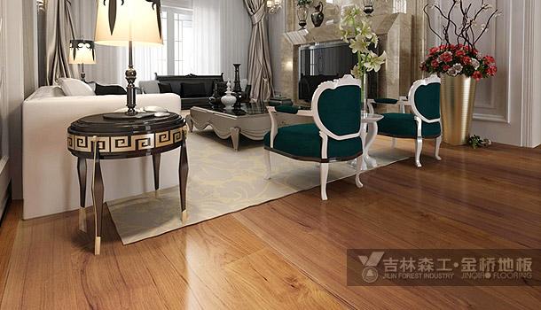 三层实木复合地板——贵胄之王(简欧风格)