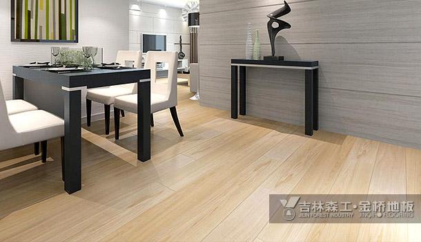 三层实木复合地板——金色旅行(现代简约风格)
