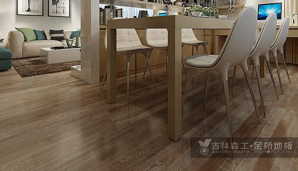 三层实木复合地板——现代简约风格