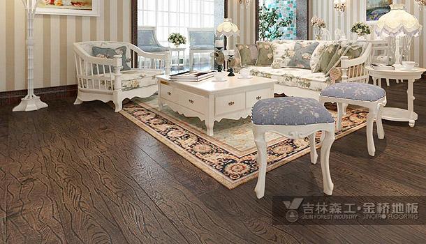 三层实木复合地板——梦幻橡木(田园风格)